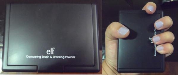 REVIEW:  ELF Contouring Blush and Bronzing Powder (2/3)