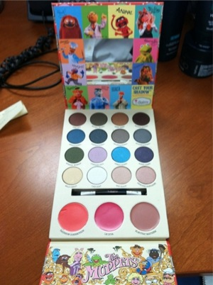Preview: TheBalm Limited Edition Muppets Cast Your Shadow Palette (5/6)