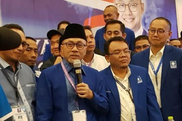 Zulkifli Hasan terpilih menjadi ketua Partai PAN Periode 2020 - 2025