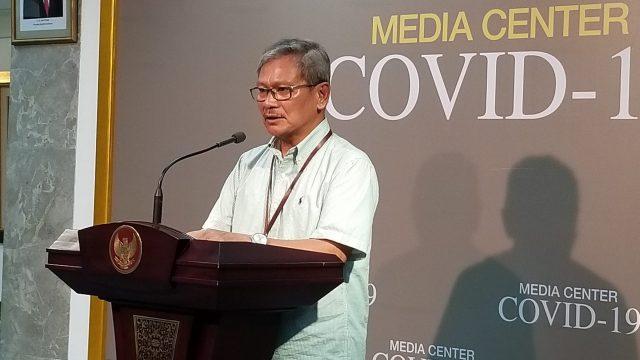 juru bicara pemerintah untuk penanganan corona Achamd Yurianto