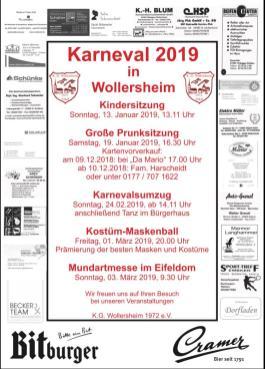 Veranstaltung KG Wollersheim