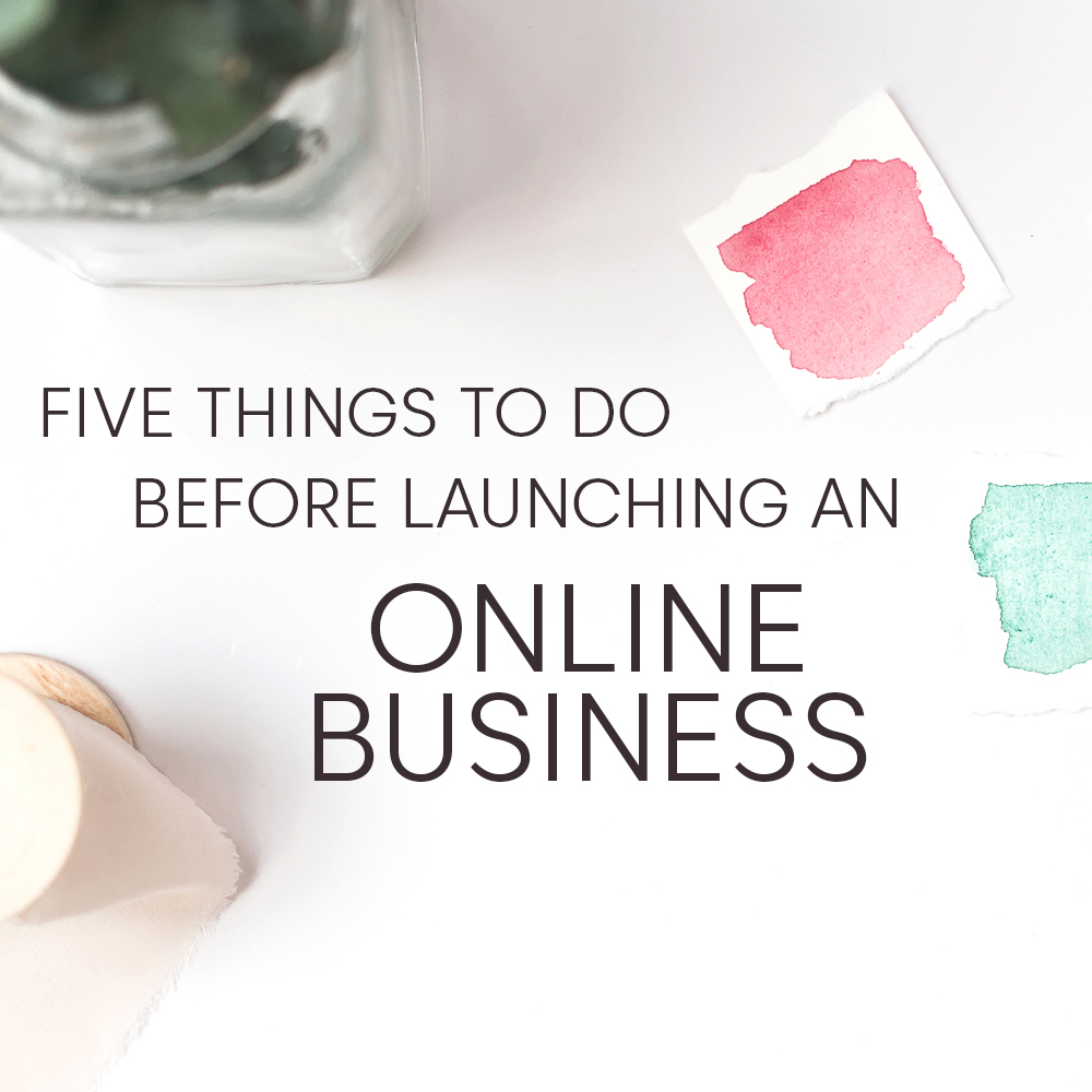 5 things for online business