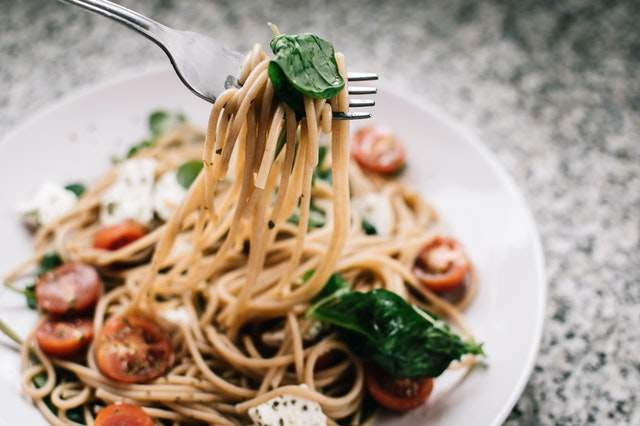 https://www.pexels.com/photo/selective-focus-photography-of-pasta-with-tomato-and-basil-1279330/