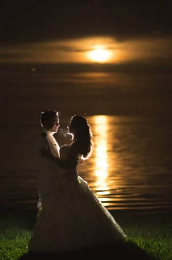 Full moon wedding - Friday 13, 2014
