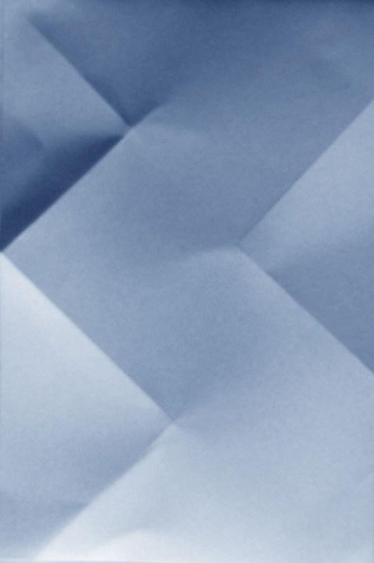Shadows III blue Karolina Bednorz