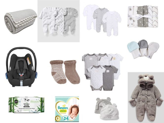 baby hospital bag