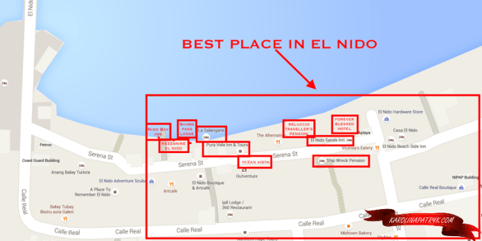 Where to stay in El Nido?