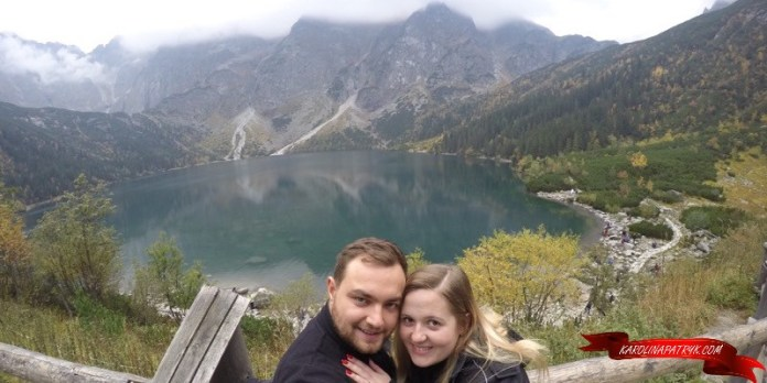 Karolina and Patryk at Morskie Oko lake