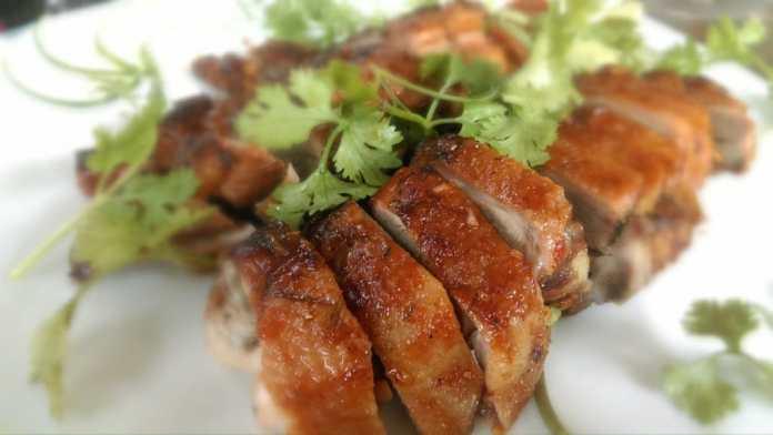 mai chau local food vietnamese duck
