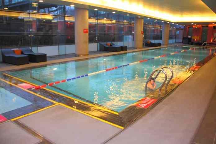 Hotel Jen Upper East Beijing swimming pool