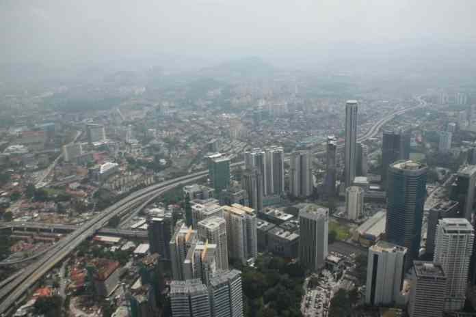 Aerial view on Jakarta