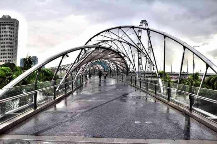 Bridge in Singapore