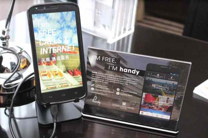 Free smartphone at Concorde Hotel Singapore