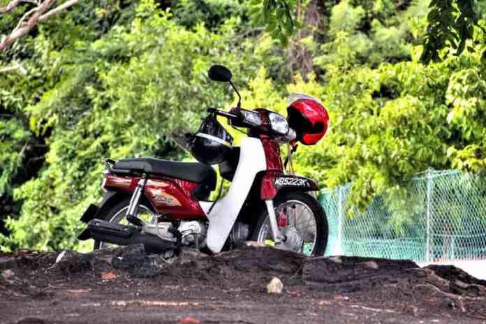 Motorbike in Port Dickson