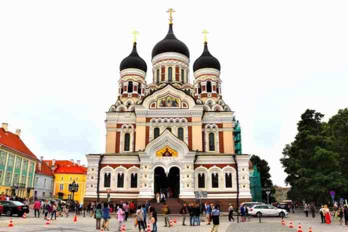 Alexander Nevski Cathedral in Tallinn