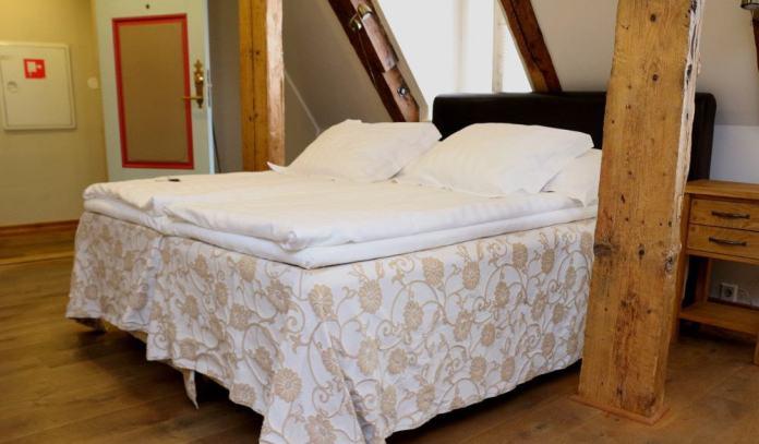 Bed in CRU hotel