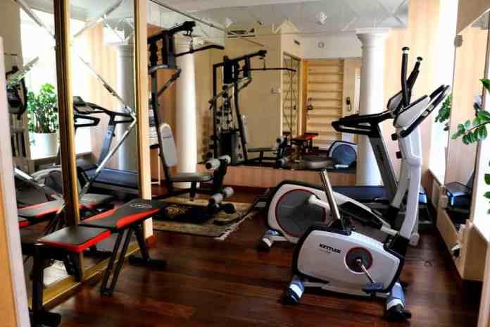 Gym at Ramada Hotel Vilnius
