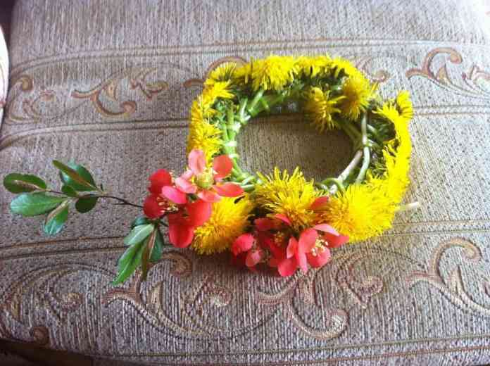 Flowers on weekend majowy