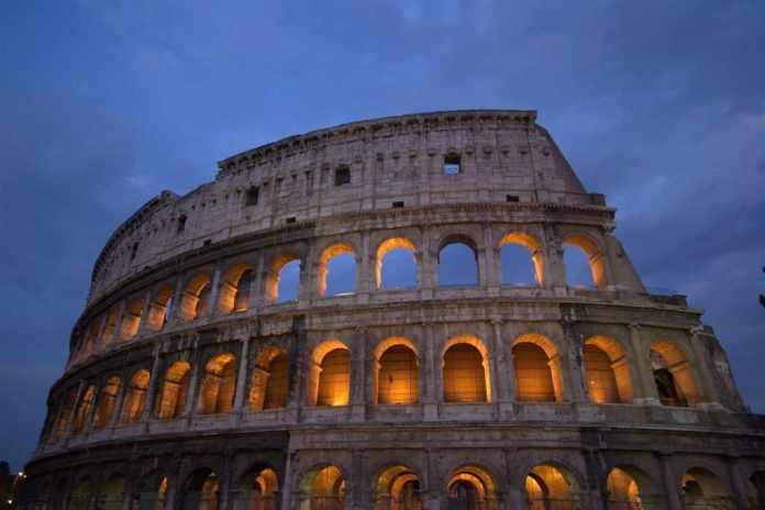 You can't miss the colosseum of Rome.