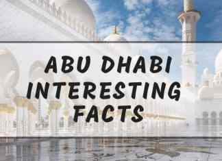 Intersting Abu Dhabi facts
