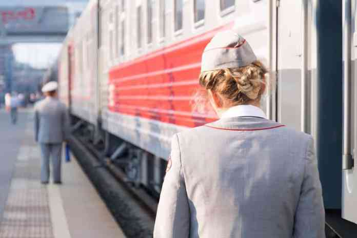 Famous things in Russia: Trans-Siberian Railway