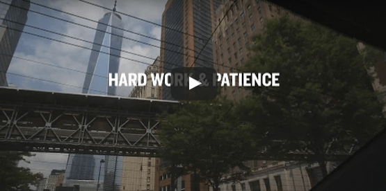 Hard Work and Patience