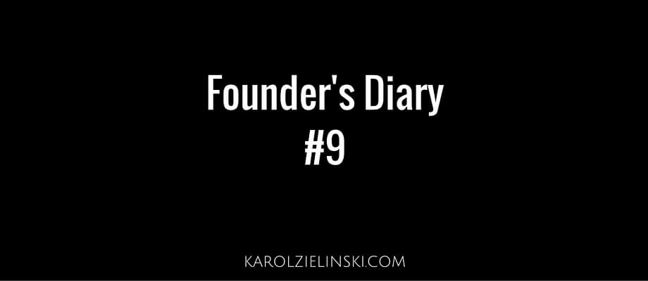 Founder's Diary #9 – Security