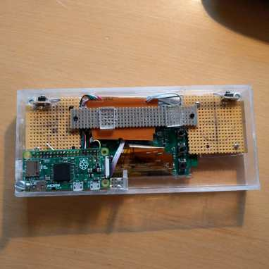 Controller, screen and Raspberry Pi