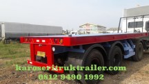 fender-karoseri-trailer-flatbed-20-ft-kanan
