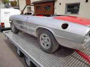 Oldtimer-Restauration, Alfa Romeo Spider, Karosserie Garage Bad Saulgau