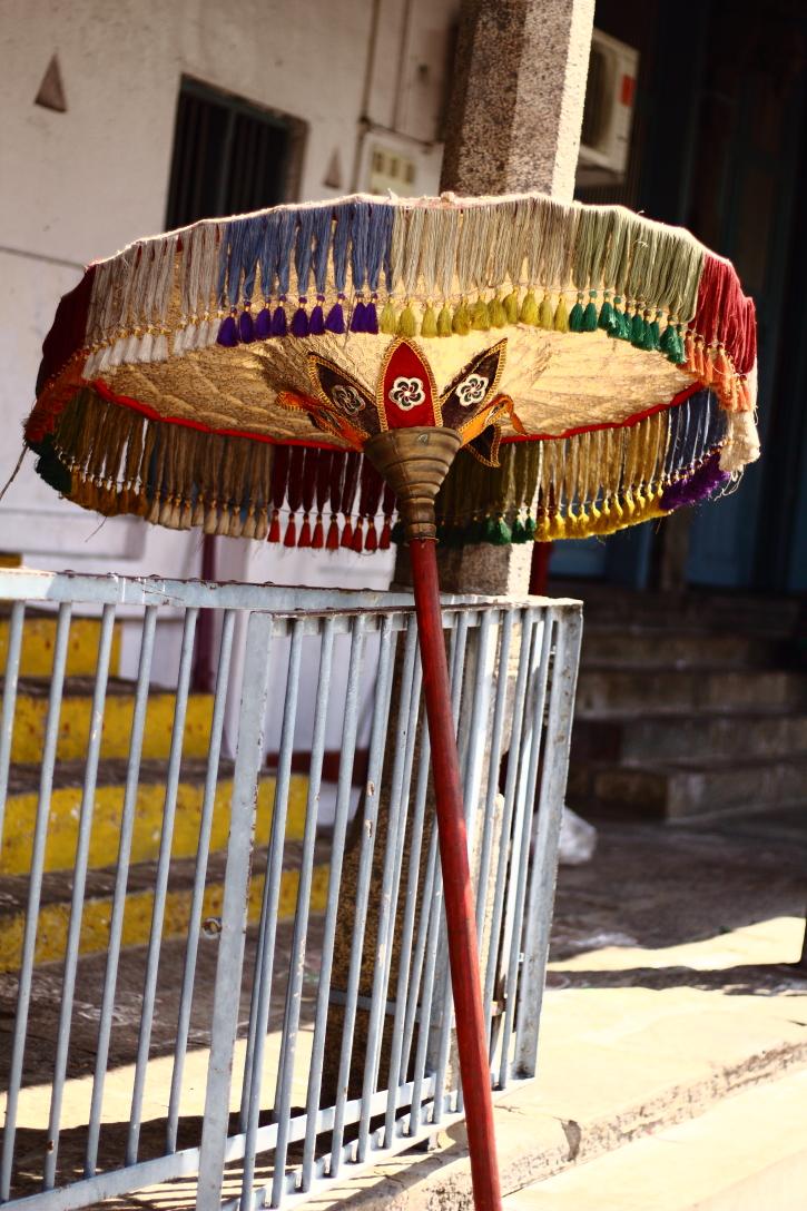 kabaliswar temple mylapore ,,, decorative umbrella