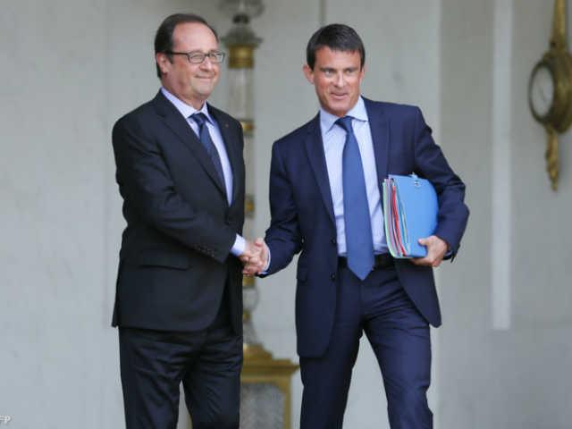 Hollande Francois Valls Manuel