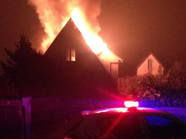 Felgyújtották egy ungvári orvos házát
