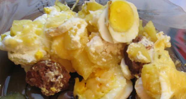 Rakott krumpli recept