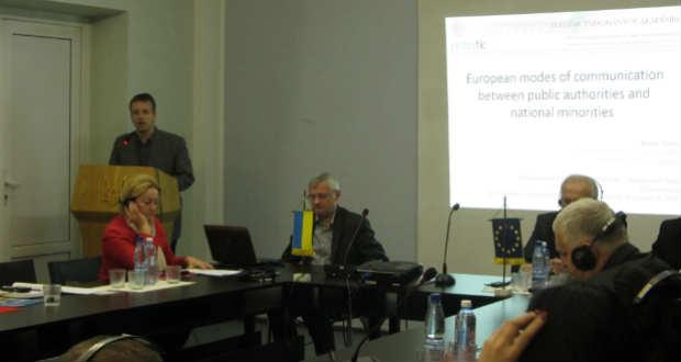 Kerekasztal-beszélgetés a kárpátaljai nemzetiségek képviselői között