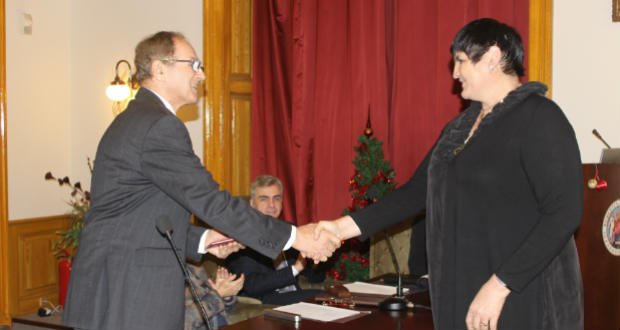 Arany Kitűző kitüntetést kapott dr. Orosz Ildikó