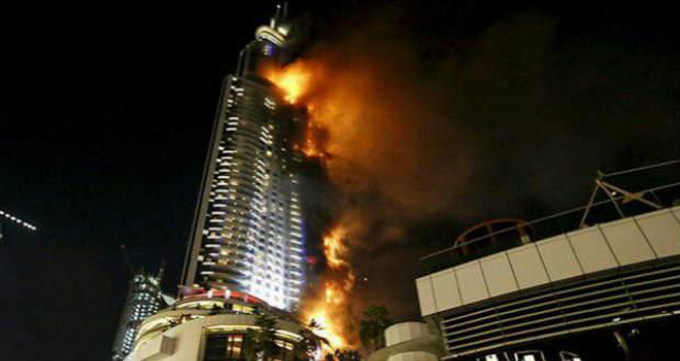 Fáklyaként lángolt egy dubaji felhőkarcoló