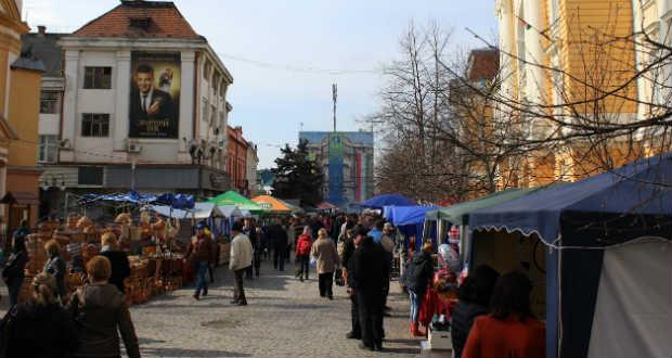 Kárpátalja ma: Tavaszi vásár Beregszászban