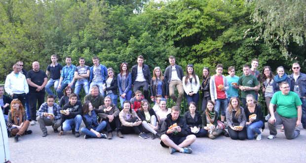 Beregszászi főiskolások a Zemplénben szervezett csereprogramban