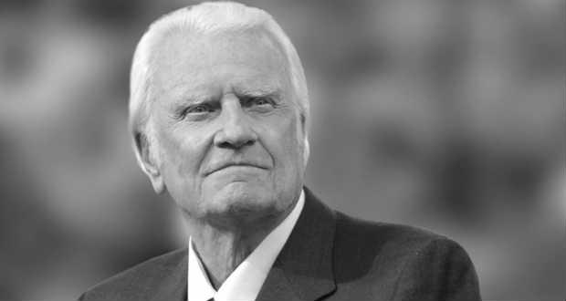 Elhunyt Billy Graham világhírű amerikai prédikátor