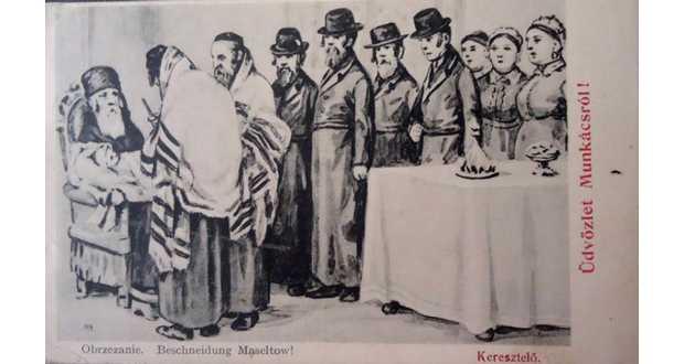 Kárpátalja anno: zsidó körülmetélés Munkácson