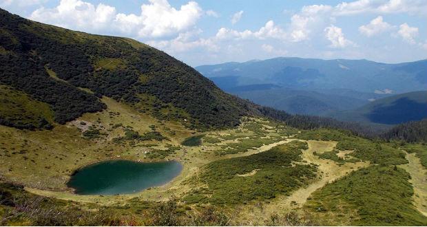 Kárpátalja ma: a Vorozseszka-tó