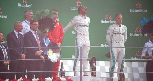 Olasz Nagydíj – Hamilton megverte a Ferrarikat Monzában