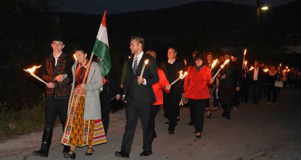 Kárpátaljai részvétel az 1956-os forradalom és szabadságharc ünnepi megemlékezésén Bánhorvátiban
