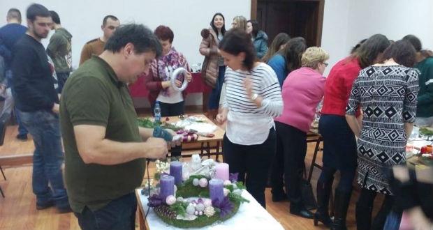 III. Adventi virágkötészeti szakmai nap a Rákóczi-főiskolán