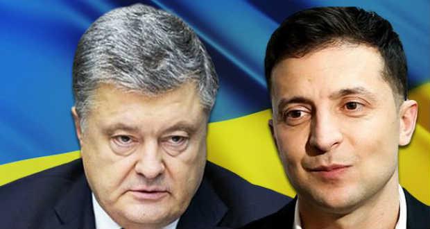 Exit poll: Zelenszkij és Porosenko jutnak be a második fordulóba
