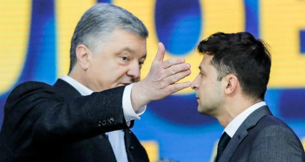 Porosenko Zelenszkijnek: hangolják össze erőfeszítéseiket az orosz agresszióval szemben