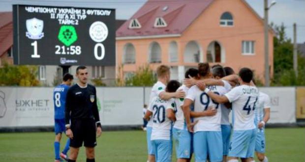 Feljutott az ukrán másodosztályba az FC Minaj