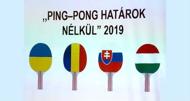 Beregszászra fontos szerep hárul – 4 nemzet amatőr asztaliteniszezőit érintő kérdésekben egyeztettek Debrecenben