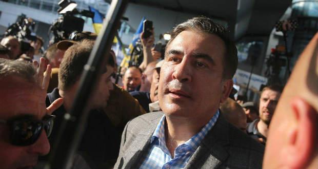 Megérkezett Szaakasvili Kijevbe